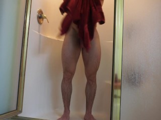Sexy Secluded Gym Shower Video